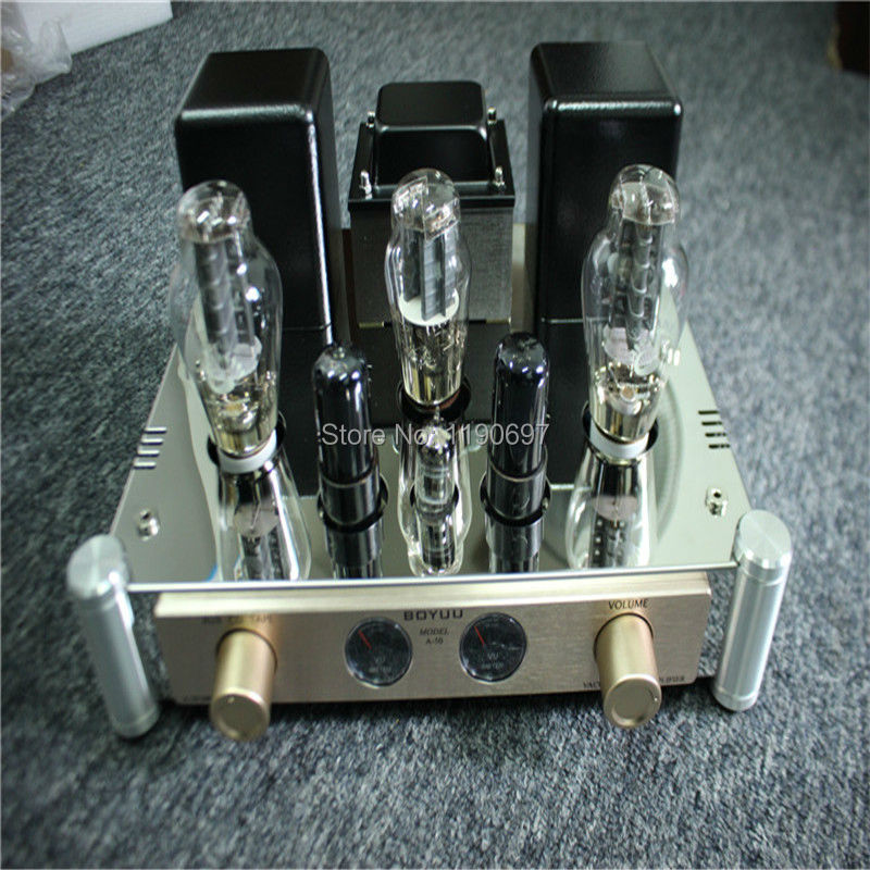 300B Single Ended Tube Amplifier 5Z3PAT Rectifier Tube 12AT7 Tube Hifi Stereo Audio Vacuum Tube Power Amplifer(China (Mainland))