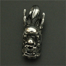 1pc Newest Design Dragon Head Pendant 316L Stainless Steel Men Fashion Popular New Animal Dragon Head Pendant(China)