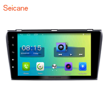 Seicane Android 6.0 GPS Navigation Car Radio Stereo for 2004-2009 Mazda 3 3G WIFI Touch Screen Rearview Camera Mirror Link OBD2