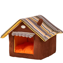 YUYU Soft Pupply House Cat Sleeping Bag Dog House Small Animal Bed Warm Soft Dogs Kennel Cat House Cat Bed Cat House Cama Perro(China)