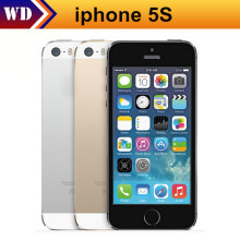 Original Unlocked Apple iPhone 5s 16GB / 32GB/ 64GB ROM 8MP camera 1136x640 pixel WIFI GPS Bluetooth Cell phone  Used