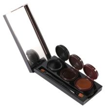 3 Colors/pcs Smudgeproof Waterproof Cosmetics Eye Brow Enhancers Music Flower Makeup Gel Lasting Eyebrow Powder & Eyeliner