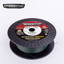 Spiderwire STEALTH 500yd #4.5-#9.0 PE Braided Fishing Line Lure Fishing Distant Cast Powerful Braided Wire Tackle 50/65/80/100LB(China)