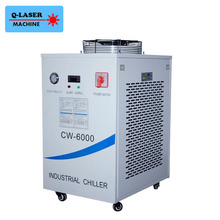 220V CW-6000AH Laser Water Chiller For Cooling Three 100W or Four 80W CO2 Laser Tubes