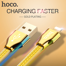 HOCO X7 8 pin 1.2m OTG Fast Charging Cable USB Data Sync Charger For Apple Lightning For iPhone 5 5S 6 6S 6s plus iPad Black