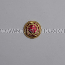 Chinese Police Type 55 Cap Badge Insiginia Aluminum Replica CN/402112