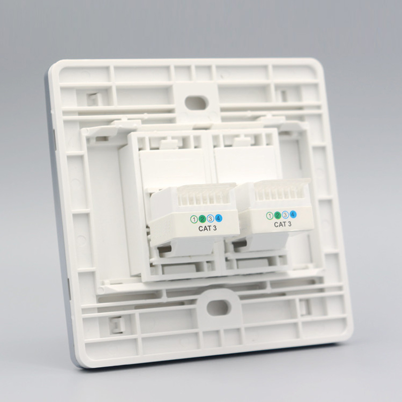 Two Socket RJ11 Wall Panel pic 2