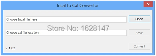 Forcummins INCAL TO CAL CONVERTOR unlock<br><br>Aliexpress
