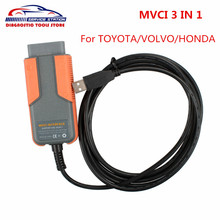 Factory price mvci for toyota tis auto scanner tool MVCI Diagnostic Interface tool with free shipping(China)