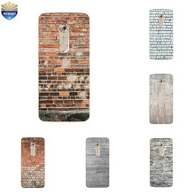 For ZTE Nubia Z17 Mini TPU Phone Case for Axon 7 / 7 Mini Cover Ultra Thin for Nubia Z9 MAX Silicone Shell Brick Pattern