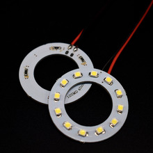 2PCS x  Car Led  Headlight 40mm 3528 12 SMD Angel Eyes Halo Ring Light , White/Blue/Yellow/Green/Red