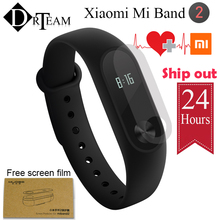 Original Xiaomi Mi Band 2 Smart Fitness Bracelet Mi Band 2 Wristband Heart Rate Monitor IP67 Waterproof Sleep Monitor OLED Touch