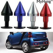 Anti-theft Hole Protecter Car Sticker Rear Collision Protection Cone Tail Accessories Car Styling For Mercedes Benz Smart Fortwo