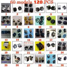 Sample package:60models,120ps Tablet PC MID/Laptop DC Power Jack Connector for Samsung/Asus/Acer/HP/Toshiba/Dell/Sony/Lenovo/...(China)