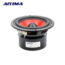 AIYIMA 1Pc Audio Portable Speaker 4Inch 4Ohm 30W Hifi Fever Bass Speaker Subwoofer Classic Modeling Low-frequency Speakers(China)