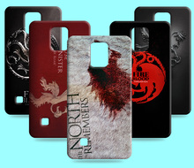 Ice and Fire Cover Relief Shell For Samsung galaxy Note 3 Neo Cool Game of Thrones Phone Cases For Galaxy Note 4