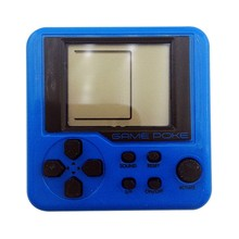 EDAL Game Consoles Mini Puzzle Children Russian Box Game Console Random Color Portable LCD Players Educational Electronic Toys(China)