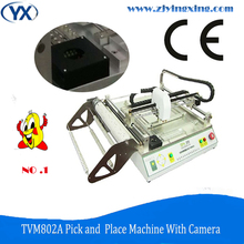 Pcb Manufacturing Equipment Solar Mounting System Pick and Place SMT Desktop Low Cost TVM802A