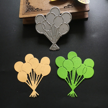 Lovely Balloons Cutting Dies Stencils for DIY Scrapbooking Photo Album Decorative Embossing DIY Paper Cards Making Crafts