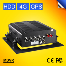 4G Mobile DVR, H.264 4CH Real Time ,GPS Track ,I/O,Remote Moniting HDD Vehicle DVR,Support iPhone,Android Phone GS-8404G