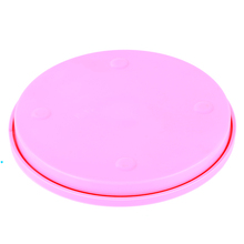 Small Cake Swivel Plate Revolving Decoration Stand Platform Turntable 14cm Round Rotating Cake Swivel Christmas Baking Tool