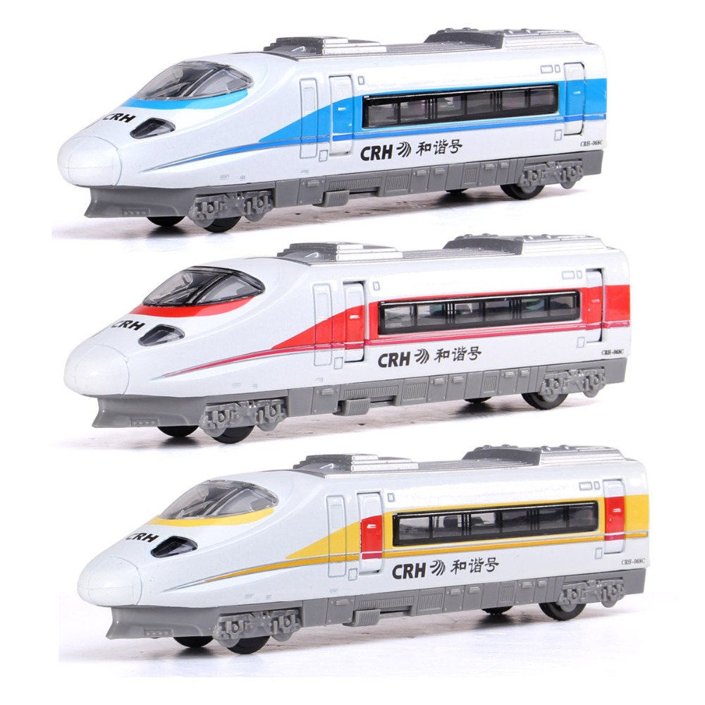1:43 Scale Luxury Diecast Alloy Metal Car Model For CRH Railway High-Speed Rail Locomotive Train Collection Model Pull Back Toys(China (Mainland))