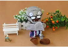 New Fashion Games Toys Plants Vs Zombies 2 Super Cute Plush Caroon Toy Stuffed Doll 30CM Plant Vs Zombies Set Best Gifr For Baby