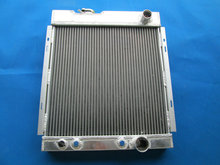 NEW Aluminum Radiator for FORD MUSTANG V8 260 289 WINDSOR 3 ROW 1964-1966 ALUMINUM RADIATOR 64 65 66(China)