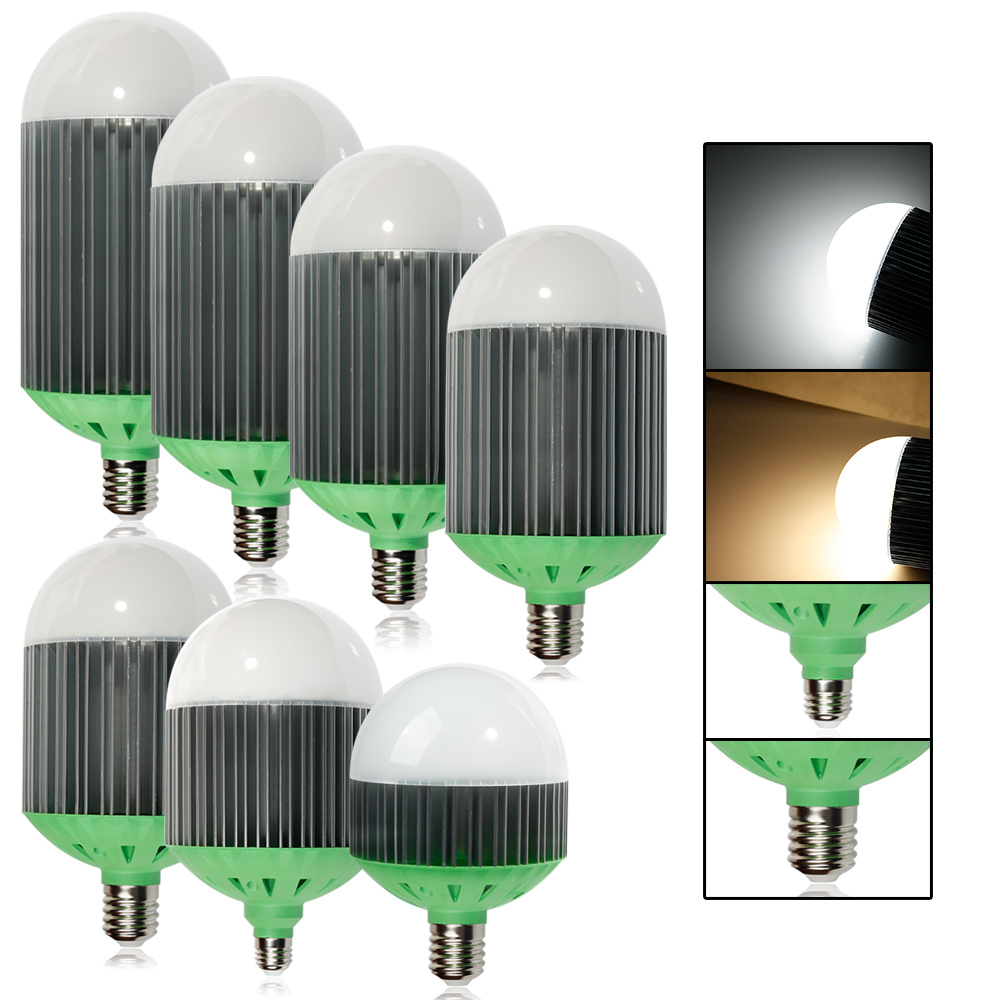 Guaranteed 100% AC220V E27/E40 White 40W/50W/60W/70W/80W/90W/110W High Brightness LED Bubble Ball Bulb Lowest Price<br>