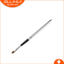 Lip Makeup Tools Beauty Makeup Brush Tool Manufacturers Selling Silver Color Rhyme(China)
