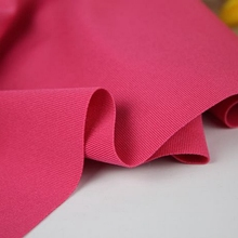 High Quality Pink Thick Stretchy Spandex Polyester Fabric Knitted Elastic Fabric For Clothes Dress Coat Swimwear Trousers(China)