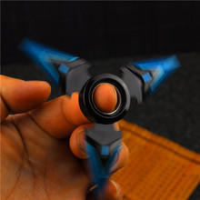 2017 NEW OW Genji Bule Shuriken Zinc Alloy Rotary Darts Weapons Model Christmas Gift