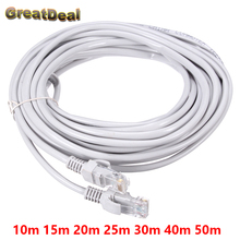 8Pin CAT5E CAT5 RJ45 Cable Internet Network Patch LAN Ethernet Cable Cord For Computer 10m 15m 20m 25m 30m 40m 50m HY1543