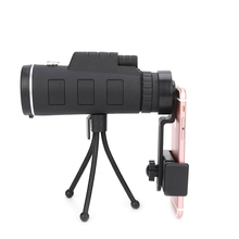 Buy 40X60 Zoom HD Dual Focus Optical Prism Monocular Telescope Lens Tripod Clip Smart Phones Photograph Adjustable for $12.47 in AliExpress store