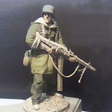 Unpainted Kit 1/16 120mm  Officer of  Kharkov front german  soldier   figure Historical WWII Figure Resin  Kit Free Shipping