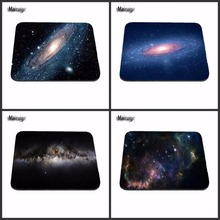 Best Quality Customized Mouse Pad Volcanic Planets In Space Computer Notebook Logo Printing Mouse Pad Soft Rubber Mat(China)