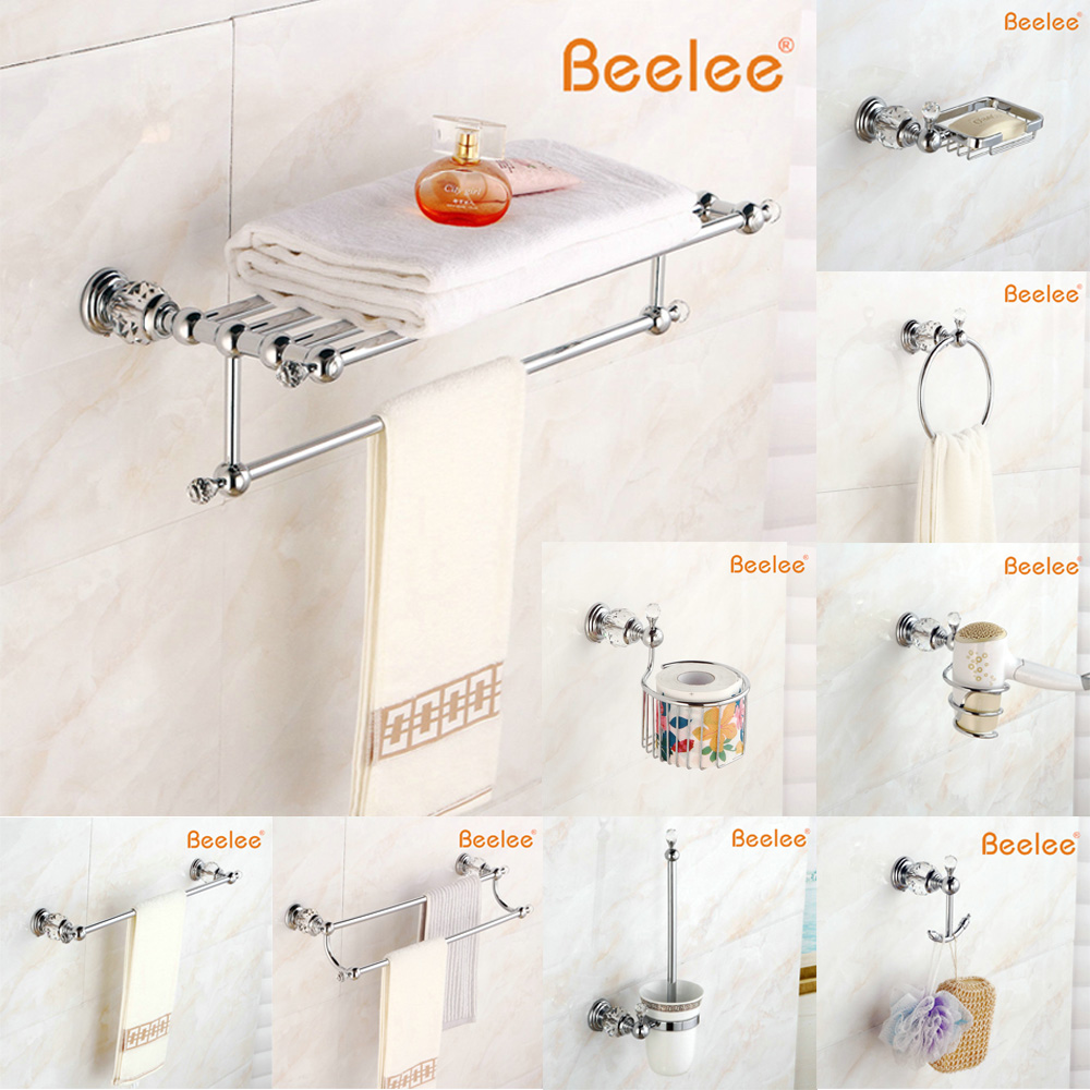 Beelee Free Shipping, Newest Fashion Design! Bathroom Accessories, Multi-frame, Gold, Towel Racks, Towel Racks, Towel Racks, Set<br><br>Aliexpress