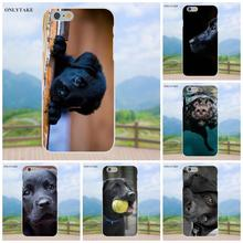 Labrador Black Dog Puppy Puppies For Apple iPhone 4 4S 5 5C SE 6 6S 7 8 Plus X Galaxy Grand Core II Prime Alpha TPU Art Print(China)