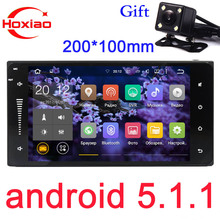 2 din Car Android Gps Radio Player For Toyota Camry Viso Corolla Wish Altis 4500 200 x 100mm 7 inch 2Din Auto DVD Android 5.1.1