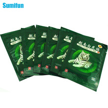 8 Pcs White Tiger Balm Vietnam Muscle Rthritis Neck Body Massager Massage Relaxation Capsicum Rheumatism Plaster Pain Patch C053