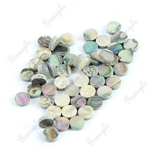 50 Pieces 6mm Colorful Abalone Inlay Material Dots Guitar Parts