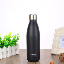 500ml Home Kitchen Thermoses Stainless Steel Insulated Thermos Cup Coffee Mug Travel Bottle portable Mug school cute bottle 2059
