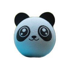 Cute Panda Little Cute Adorable Cartoon Doll Antenna Balls EVA Foam Aerial Toppers Decoration Car Styling Roof Ornament