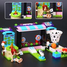 Best Sale Lepin 01005 174pcs Machine Shooting Amusement Park Assembled Building Blocks Bricks Educational Funny Toy Compatible(China)
