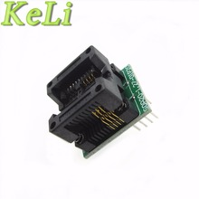 TIEGOULI 1pcs SOP8 TURN DIP8 WIDE SOP8 to DIP8 Programmer adapter Socket Converter for SOP8 Wide 200mil(Wide) New!