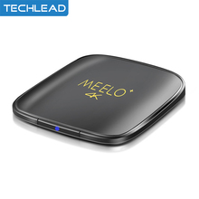 2017 New Android 6.0 Network tv box 4 core S905x Wifi Media player DLAN 1GB 8GB Smart TV player 4K Meelo+ HD Set top box Android