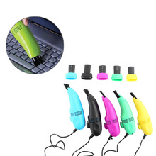 Mini USB Vacuum Keyboard Cleaner Dust Machine Brush Dust Cleaning Kit For PC Laptop Notebook