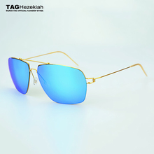 2017 TAG Brand new design sunglasses men titanium sun glasses women oculos de sol feminino lentes de sol mujer Driving goggles(China)