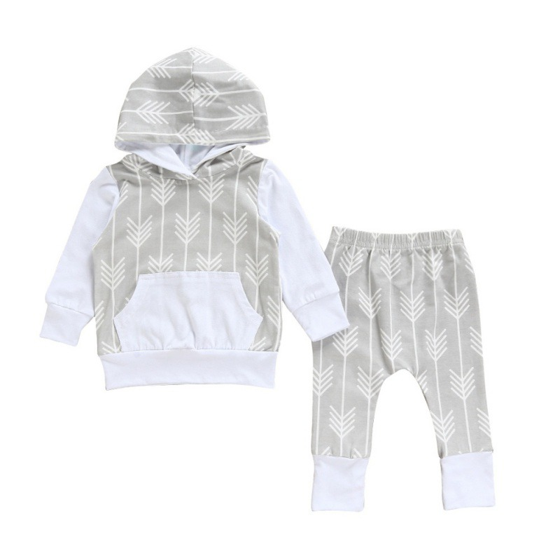 Spring Autumn Brand Unisex Kids Baby Carters Boys Girls Clothing Set 3 PCS Set Full Cotton Striped T-shirts + Pants + Caps(China (Mainland))