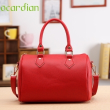 OCARDIAN crossbody bag Messenger 2017 Women Handbag Shoulder Bags Tote sacoche femme Leather Hobo White Red Purple Black